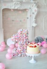 5x7ft Background Baby Birthday Cake Theme Photo Backdrop Studio Prop Party Vinyl