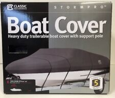 Stormpro Boat Cover for Bass Boats up to 20'-22' X106-Inch Wide