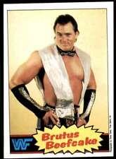 1985 Topps Brutus Beefcake WWF Wwe #10