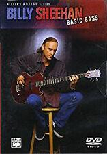 Billy Sheehan: Basic Bass (Dvd), New DVD, ,
