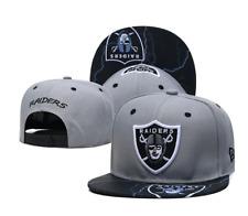 New Era Snapback NFL Raiders Grey Black Unisex Adults