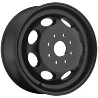"""Vision 181 Hauler Dually Inner 19.5x6.75 8x6.5"""" Matte Black Wheel Rim"""