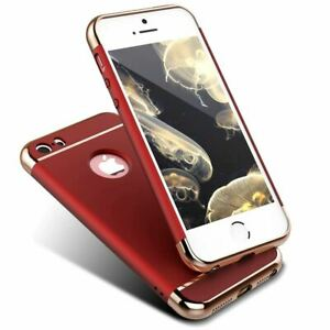 ShockProof Thin Case For Apple iPhone 5 Se 7 6s Plus 360 Hybrid Matte Slim Cover