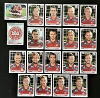 Panini WM 2010 Dänemark Denmark Mannschaft Team Complete World Cup WC 10
