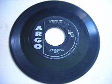 Oscar Wills Flatfoot Sam / Paul Gayten Nervous Boogie 1957 45rpm