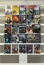 Free Comic Book Day Star Wars Valiant Hellboy Valiant Dark Horse 25 Lot Comic