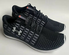 Under Armour Mens Threadborne Slingflex Running Shoes 1285676 Black SZ: 14