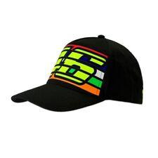 VR46 Rayures Noir Casquette Valentino Rossi Homme Baseball Chapeau Taille Unique le médecin j&s