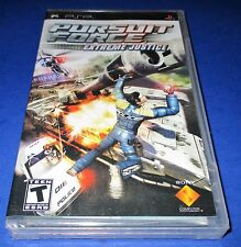 Pursuit Force: Extreme Justice Sony PSP *Factory Sealed! *Free Shipping!