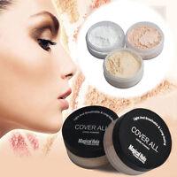 3 Color Lady Waterproof  Translucent  Loose Powder Face Foundation Matte Make-Up