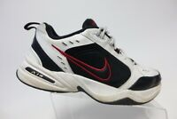 NIKE Air Monarch IV 4 White/Red Sz 12 D Men Walking Athletic Shoes