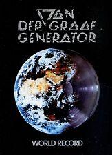 VAN DER GRAAF GENERATOR world record  HOLLAND 1976 EX LP COVER VG++