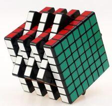Sheng Shou Magic Cube 7x7x7 Speed Cube Rubik Magic Puzzle Game Toy ABS Black