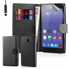 32nd Book Wallet PU Leather Flip Case Cover for ZTE PHONES Black Blade L3