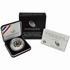 U.S. MARSHALS SERVICE .. 225th ANNIVERSARY .. 2015 PROOF SILVER DOLLAR WITH COA