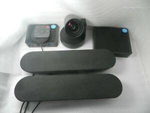 Logitech Rally VideoConference Station Table & Display Hub Camera Speaker Mic Po