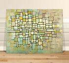 "Piet Mondrian Abstract Trees ~ FINE ART CANVAS PRINT 8x10"" Abstact"