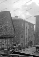 Negativ-Großalmerode-Werra-Meißner-Kreis-Hessen-Gebäude-Architektur-KFZ-5