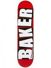 Baker logo marque mini blanc skateboard deck 7.3 ** gratuite grip ** livraison gratuite **