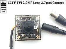 CCVT HD-TVI 1080P 2.0MP 3.7mm lens Spy Pinhole CCTV Security Mini HD TVI Camera