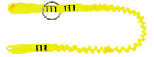 TreeUp Motorsägenstrop AY 053 Werkzeugseil Sicherungsseil Forstzubehör 1,3 Meter