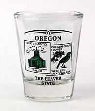 Washington State Montage Square Shot Glass