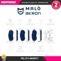 1050044 Kit pastiglie freno a disco ant Subaru (MARCA MALO')