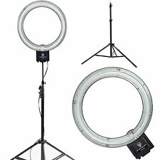 "Diva Ring Light Nova 18"" Original Photo/Video Fluorescent with 6' Light Stand"
