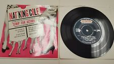 Nat King Cole Tira para Acción 1956GB Pulsar Ex ! EP 45 Capitol Records EAP-1040
