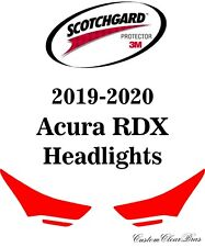 3M Scotchgard Paint Protection Film Clear Pre-Cut 2019 2020 Acura RDX