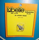 VINTAGE MODEL TRAIN TRACK LABELLE INDUSTRIES HO GROUND THROW SWITCH 6701 USA NOS