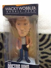 Doctor who  11th doctor wacky wobbler bobble head  figure set ,