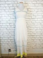 Tommy Bahama Women's Striped Summer Lake Gray Maxi Dress Size XS Extra Small