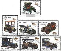Vietnam 1494-1500 (kompl.Ausg.) gestempelt 1984 Alte Autotypen