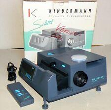 Diaprojektor Kindermann Silent 1500 AF V/S-Projar 2,4/90 MC ISCO Germany OVP