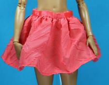 Sparkle Girlz Full Circle Coral Peach Skirt fits Made to Move Barbie Doll