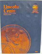 WHITMAN FOLDER - LINCOLN CENTS #3 1975 - 2013 (#9033)