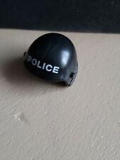 playmobil casque casquette chapeau noir police