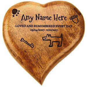 Cremation Urn Ashes Box Pet Urn Dog Urn Wooden Heart Shaped Ashes Casket Pet Urn