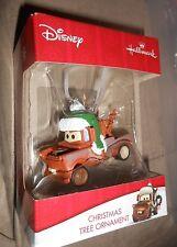 "2016 HALLMARK: DISNEY Pixar CARS ""MATOR"" Tow Truck CHRISTMAS TREE ORNAMENT"