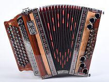 Mieten - Steirische Harmonika < EID > H4 Exellent 4-reihig B-ES-AS-DES Gr.36