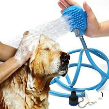 Pet Shower Sprayer Head Super Stretch SlipOn Dog Spray Wash Hose Attachment Bath