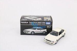 Takara Tomy Tomica Premium No. 02 Toyota Celica 2000 GT- Package Diecast Car Toy