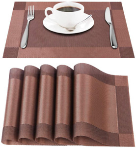 Raffaelo Placemats, Table Mat Non Slip Place Mat PVC Table Mats for Table, Dinin