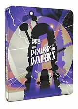 Doctor Who  - The Power Of The Daleks Col Ed Steelbook DVD &  BLU-RAY BBC SEALED