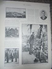 Photo article funeral of late president McKinley 1901 ref Am