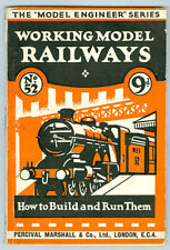 OLD MODEL RAILWAY BOOKLET ENGLISH COMPLETE * NOW ON SALE & FREE POSTAGE * AD364