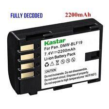 1x Kastar Battery for Panasonic Lumix DMW-BLF19 DMC-GH3 DMC-GH4 DC-GH5