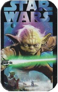 STAR WARS YODA JEDI MASTER SMALL HINGED TOBACCO STORAGE STASH TIN BOX CASE