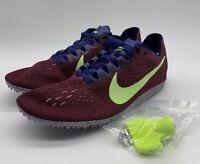 Nike Zoom Matumbo 3 Track Running Racing Distance Purple 835995-600 Men Size 6.5